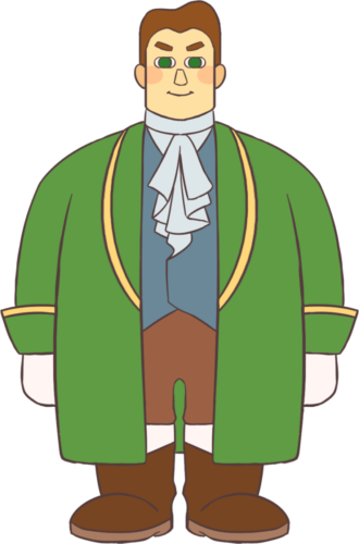 絵本風テッラ王子